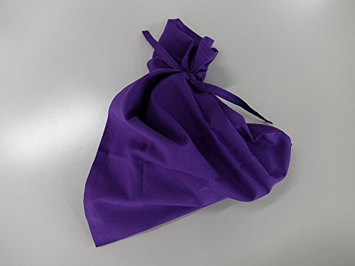 骨袋 (紫色) さらし 【納骨袋・骨壷袋・さらし袋】