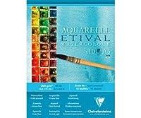 スケッチブックに水彩画Etival(200g/M2 10枚入)A5,Clairefontaine、塗装-ウェット技術、画帖、美術品