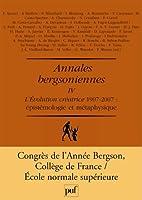 Annales bergsoniennes t.4