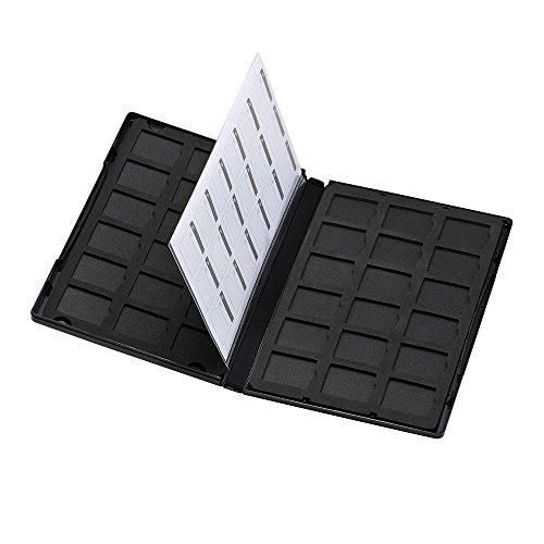 サンワサプライ DVDトールケース型SDカード管理ケース 36枚収納 FC-...