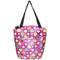MARUIKAO レディーストートバッグ 多機能 トラベル スポーツ ショルダー バック 旅行 鞄 マザーズ ママ 大容量 キャンバス 全3色選べる