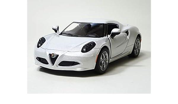 ALFA ROMEO 4C Model Scale 1:32 Grey Burago