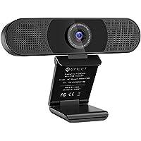 WEBカメラ eMeet C980 ウェブカメラ 1080P HD pcカメラ 360°集音AIマイ…
