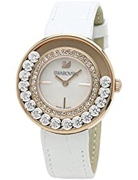 [スワロフスキー]SWAROVSKI 腕時計 ラヴリークリスタル ローズゴールド クォーツ ホワイトストラップ 1187023 レディース 【並行輸入品】