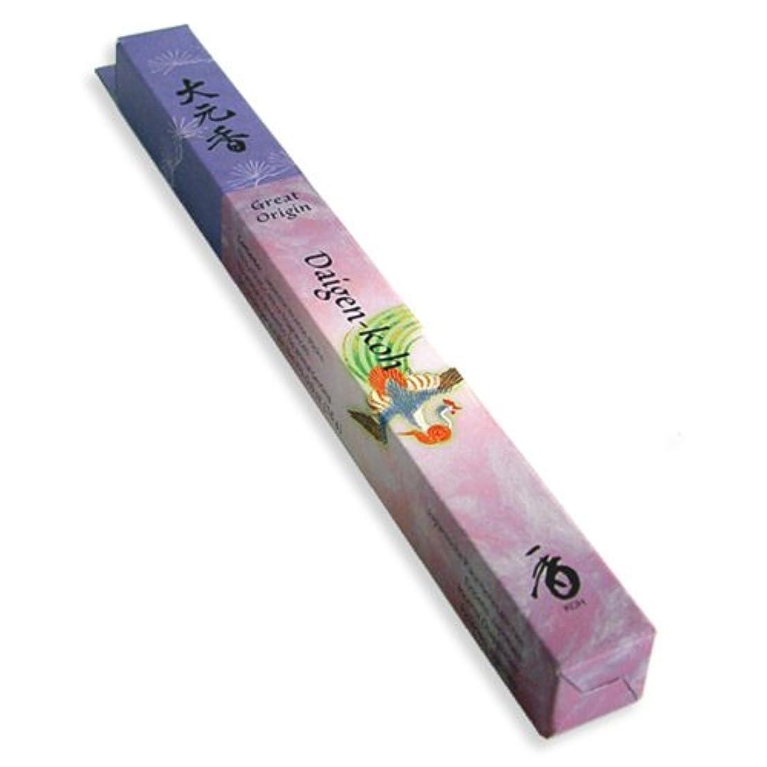 処分したルーフ指標Encens daigen-koh