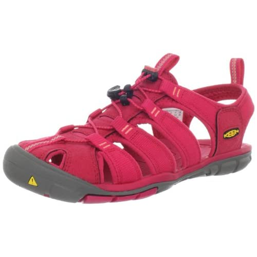 [キーン] KEEN WOMEN CLEARWATER CNX 1008769 Barberry/Hot Caral (Barberry/Hot Caral/6)
