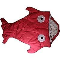 Infant Baby Toddler Sleeping Bag Shark Whale Swaddle Swaddling Blanket Nursery Bedding Stroller Car Seat Jogger Wrap Sleep Sack by Strosportsandtech