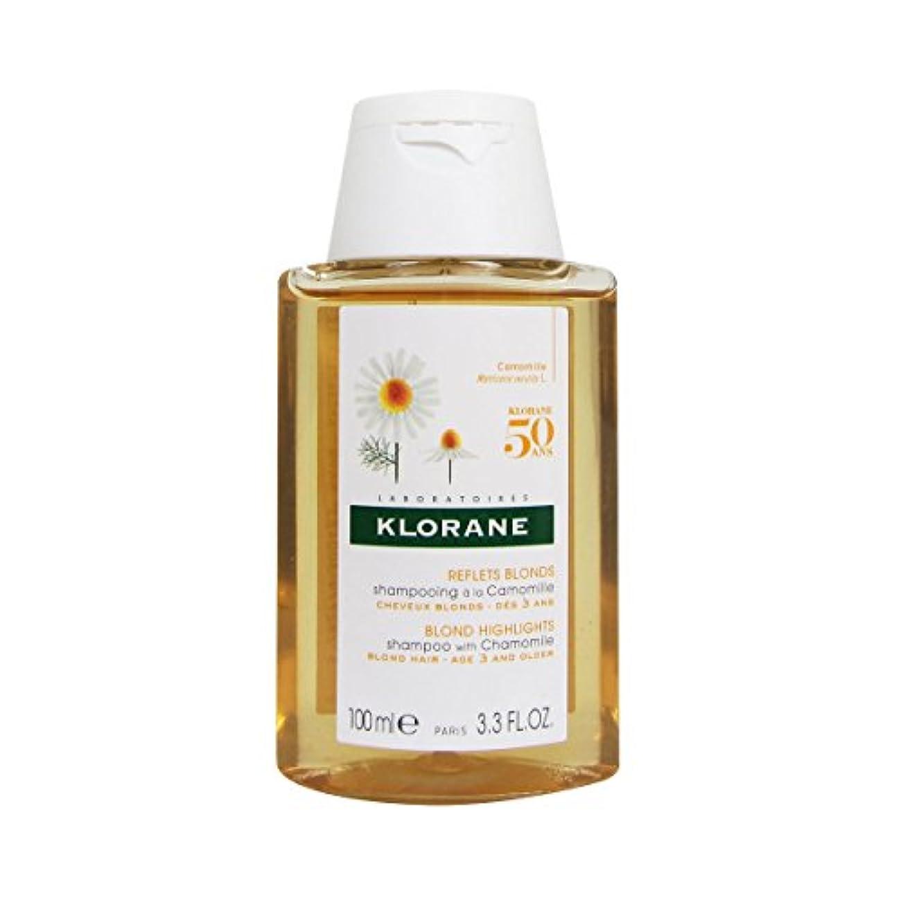 大陸噴水ボタンKlorane Shampoo With Camomile 100ml [並行輸入品]