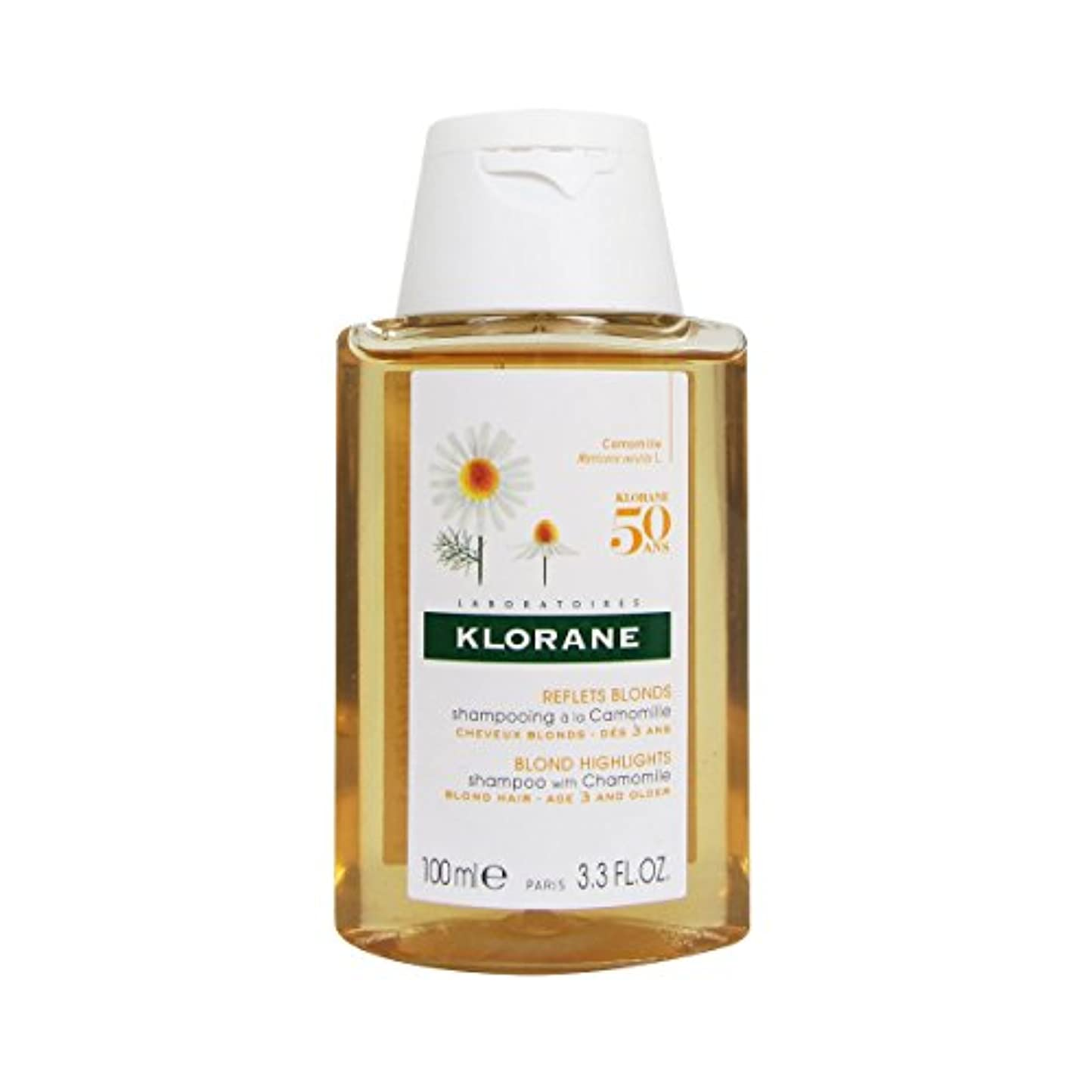 直径クリスチャン失われたKlorane Shampoo With Camomile 100ml [並行輸入品]
