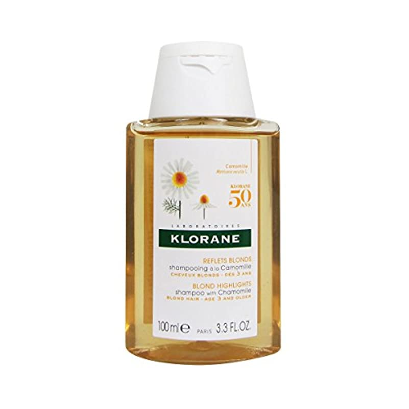 素人ミケランジェロシャベルKlorane Shampoo With Camomile 100ml [並行輸入品]
