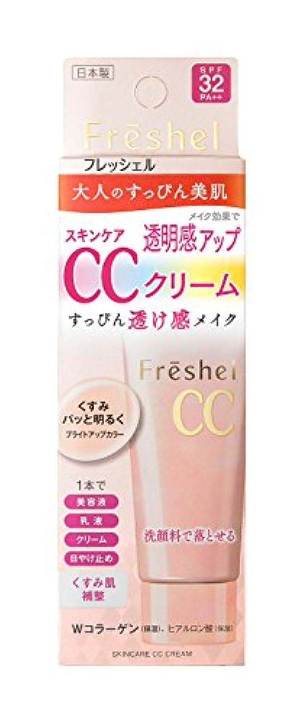 先例受取人縞模様のフレッシェル CCクリーム スキンケアCCクリーム 50g