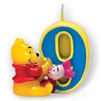 Disney ' Winnie the Pooh & Piglet ' Birthday Candleパーティーdecoration- 9