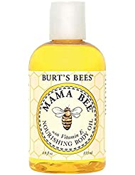 Burt's Bees 100% Natural Mama Bee Nourishing Body Oil, 4 Ounces by Burt's Bees