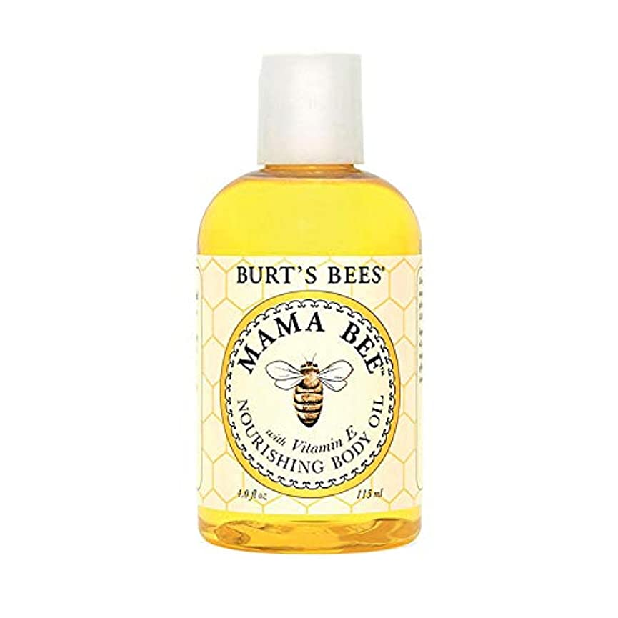 ポーズしみホームレスBurt's Bees 100% Natural Mama Bee Nourishing Body Oil, 4 Ounces by Burt's Bees