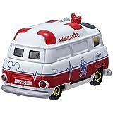ワームン アンビュランス 救急車 ミッキーマウス ワークスディビジョン DM-31 Worm'n WORKS DIVISION ミニカー おもちゃ(オモチャ・玩具) ディズニーモータース