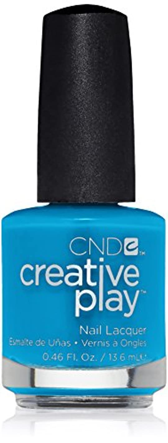 エンゲージメント簡潔な母CND Creative Play Lacquer - Skinny Jeans - 0.46oz / 13.6ml