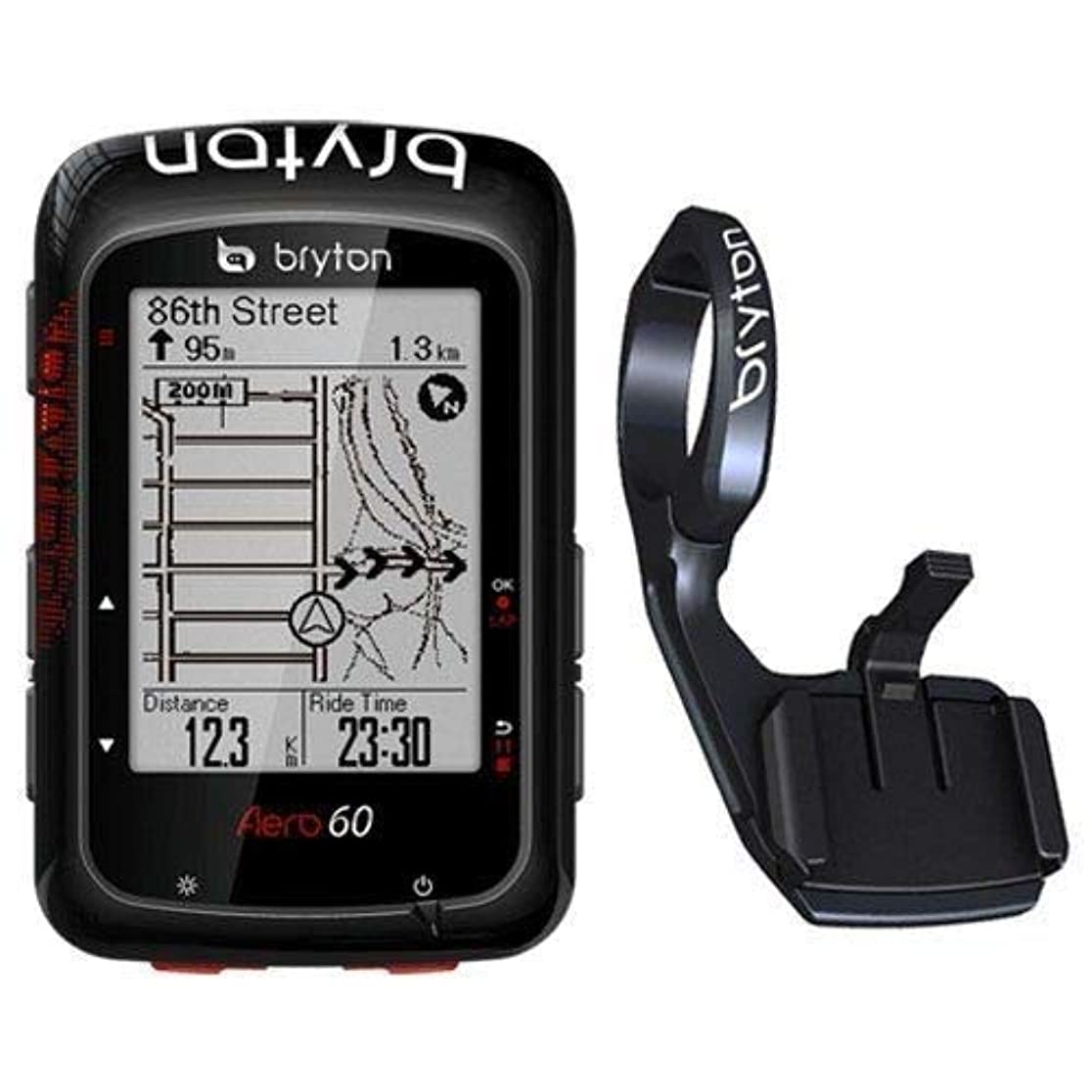 劇作家シャーロットブロンテシャーロットブロンテBryton Aero 60E GPS Cycling Computer BLU Wireless Computer & Extension Mount #TB3010-Self
