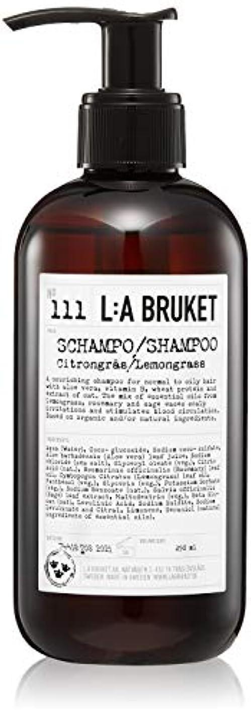 立場キャンベラ比べるL:a Bruket (ラ ブルケット) シャンプー (レモングラス) 250ml