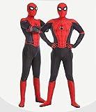 S&C Live ハロウィンコスチューム 大人コスチューム スパイダーマンコスプレ スパイダーマン衣装 スパイダーマン仮装 スパイダーマン全身タイツ スパイダーマン着ぐるみ リアル 3D 立体プリント 戦っている感 かっこいい スパイダーマンオールイワン スパイダーマン:ファー・フロム・ホーム 2019 Spider-Man: Far From Home ピーター・パーカー / スパイダーマン マーベルヒーローコスチューム スパイダーマンスコスプレ レッド×ブラック 赤 黒 クリスマス/ハロウィン/新年会/忘年会コスプレイベント仮装 学園祭文化祭仮装#180228 (スパイダーマ2019新作, フリーサイズ)