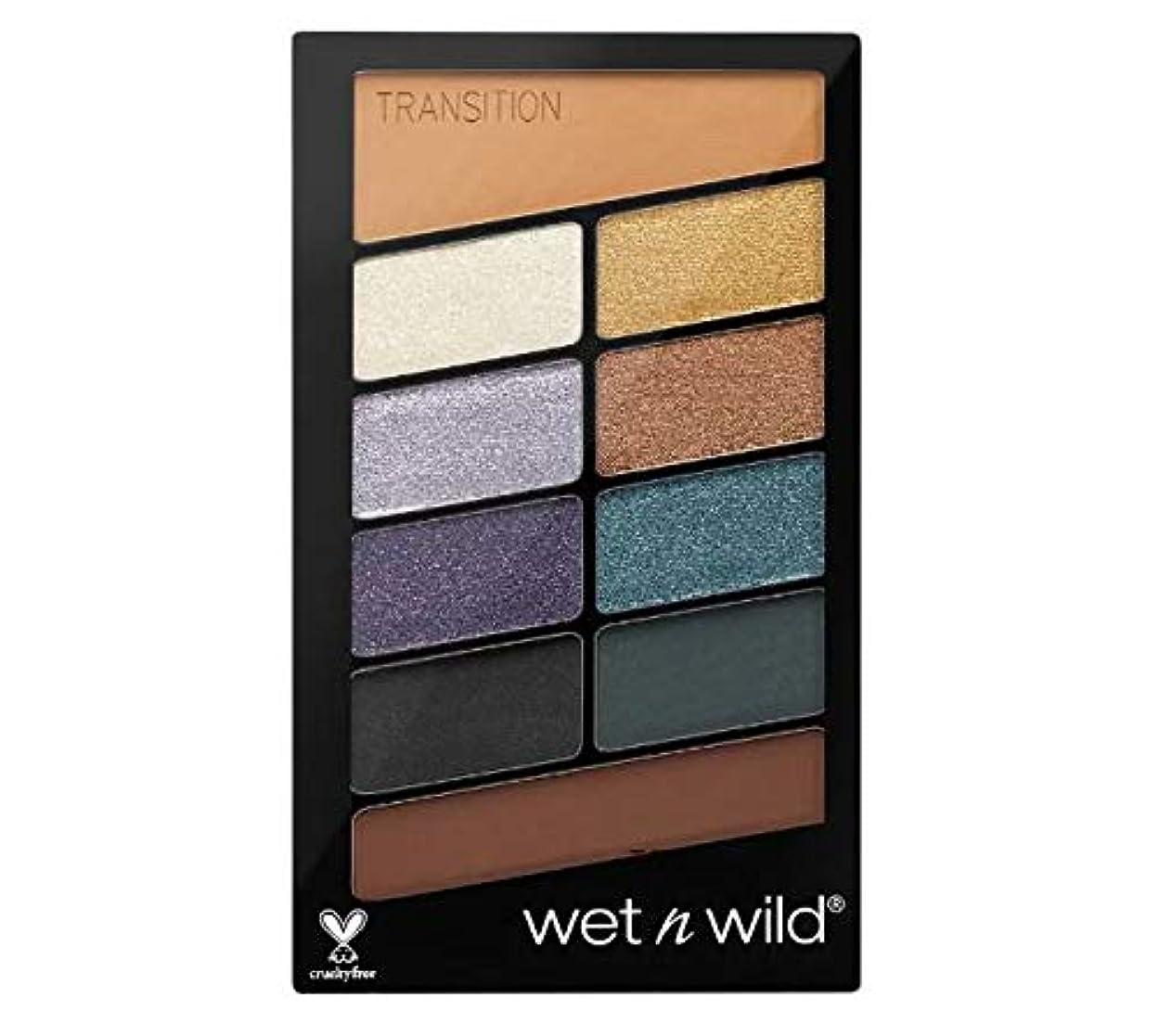 キロメートル襲撃能力Wet N Wild Color Icon Eyeshadow 10 Pan Palette (Cosmic Collision) 海外直送 [並行輸入品]