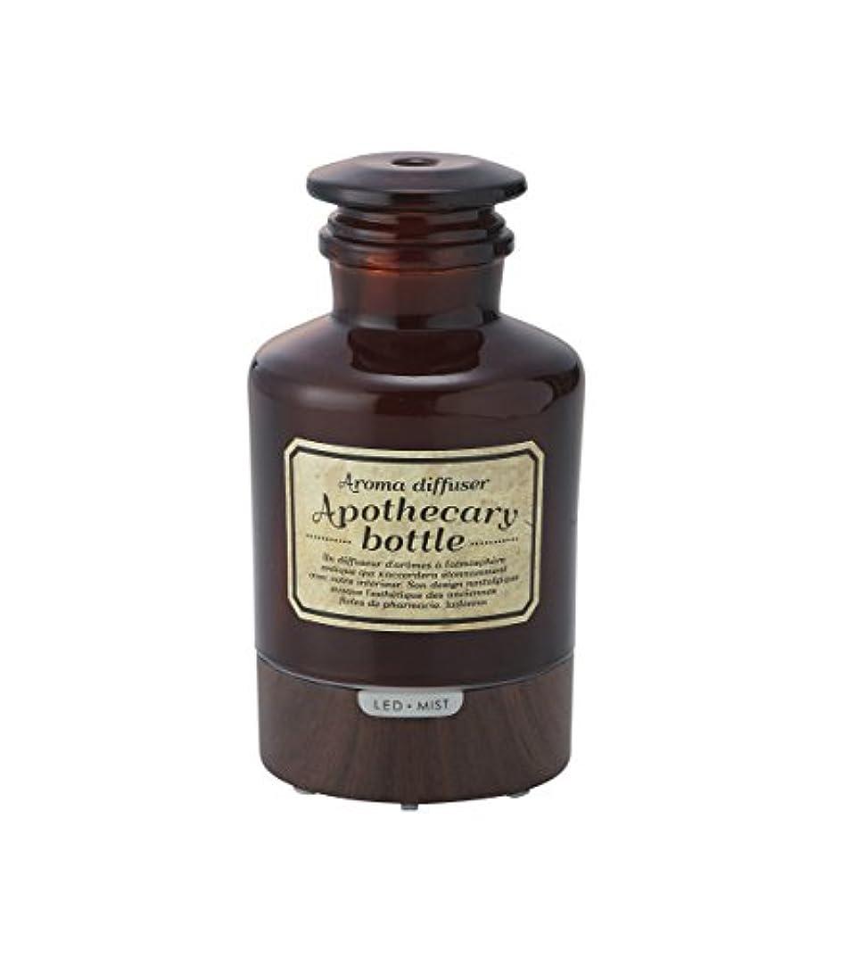ホイスト寝具製油所ラドンナ アロマディフューザー アポセカリーボトル ADF21-AB ブラウン