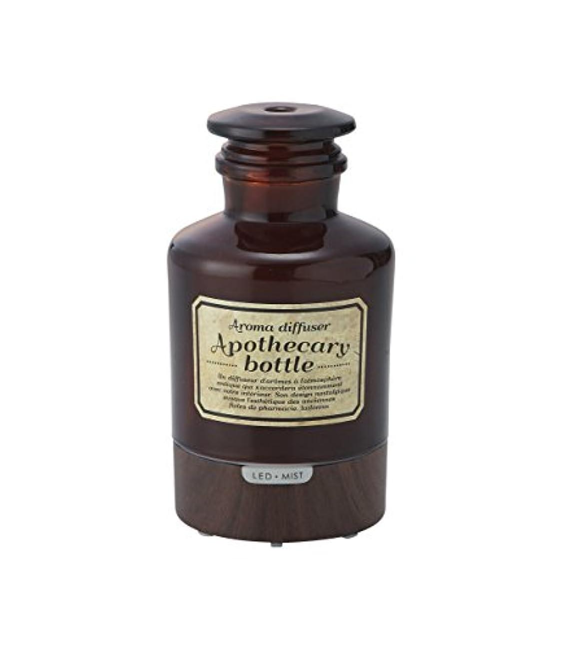 広々クライマックスブラウザラドンナ アロマディフューザー アポセカリーボトル ADF21-AB ブラウン