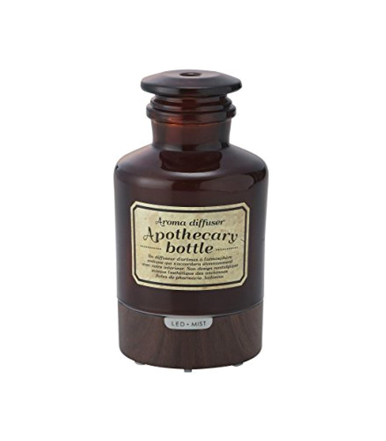 安全なエキゾチック取り消すラドンナ アロマディフューザー アポセカリーボトル ADF21-AB ブラウン