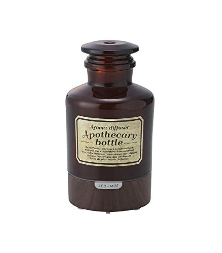 おとこハドル食用ラドンナ アロマディフューザー アポセカリーボトル ADF21-AB ブラウン