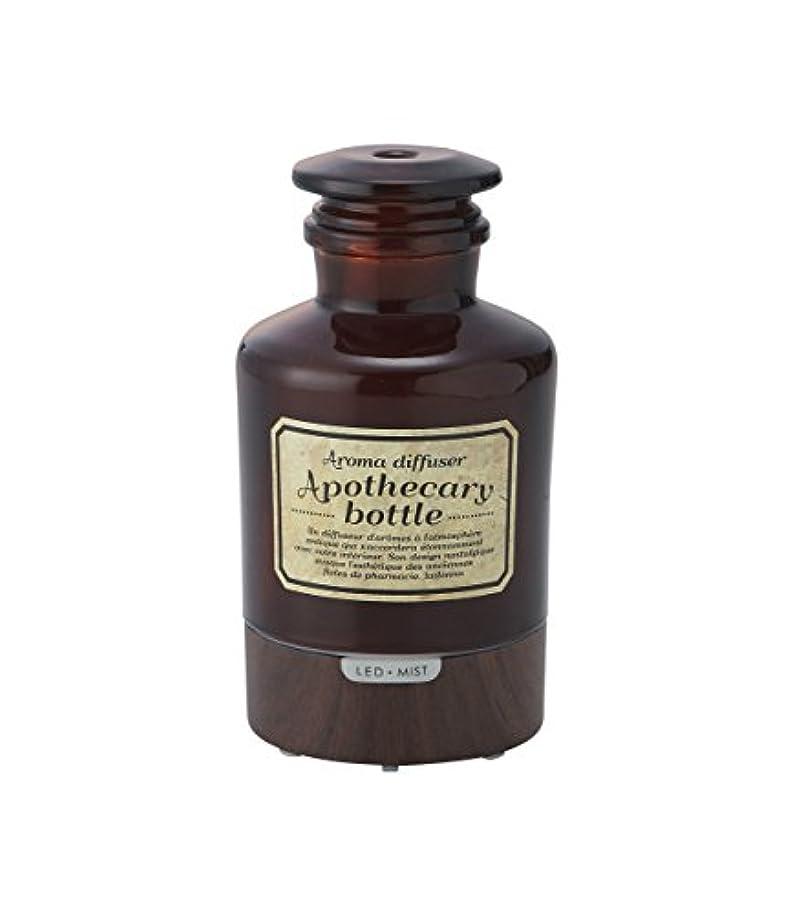 フォアタイプ確認する電子レンジラドンナ アロマディフューザー アポセカリーボトル ADF21-AB ブラウン