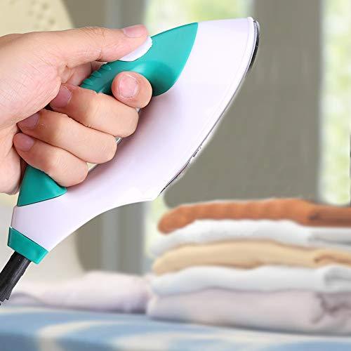 手芸用ミニアイロン ミニハンドルアイロン コンパクトアイロン スチームアイロン 家庭 旅行出張に最適 コード付き ABS材質 静電気防塵 海外対応