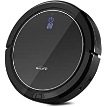 Self Charging Robotic Vacuum Cleaner InLife i7 with Strong Vacuum System, Drop Sensing Technology for Hard Floor and Low Pile Carpet