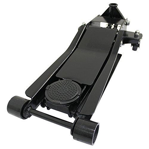 【ブラック】ガレージジャッキ 3t  シンプルタイプ  ローダウン車対応