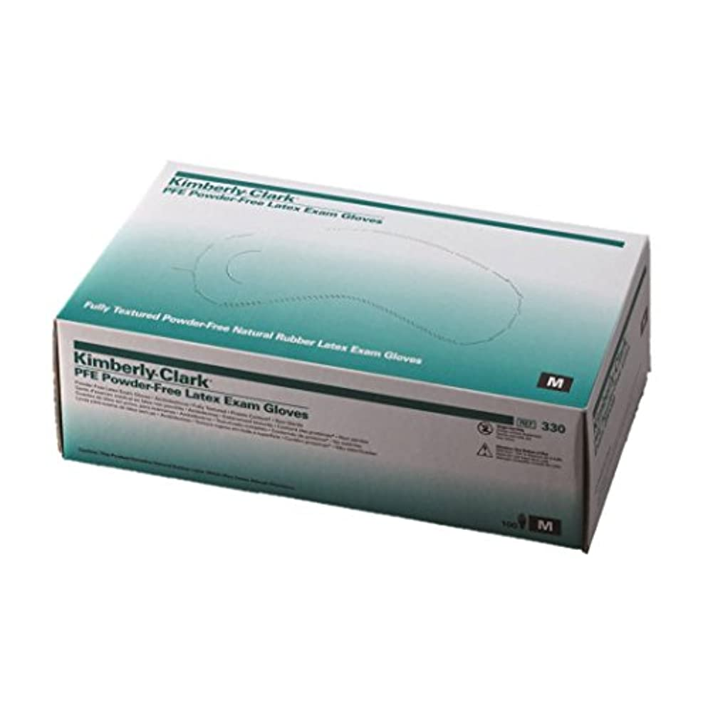 最小化する味わう囲むラテックスグローブ(PFE) 10 箱