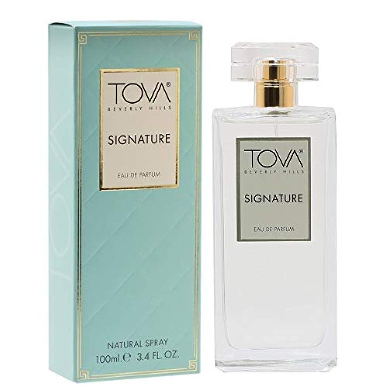 タクトパーセント義務的Tova Signature Fragrance (トヴァ シグネチャ- フレグランス) 3.4 oz (100ml) EDP Spray (New Package 新デザイン)