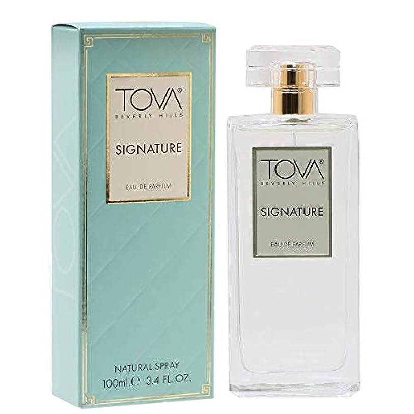 軽量連隊句読点Tova Signature Fragrance (トヴァ シグネチャ- フレグランス) 3.4 oz (100ml) EDP Spray (New Package 新デザイン)