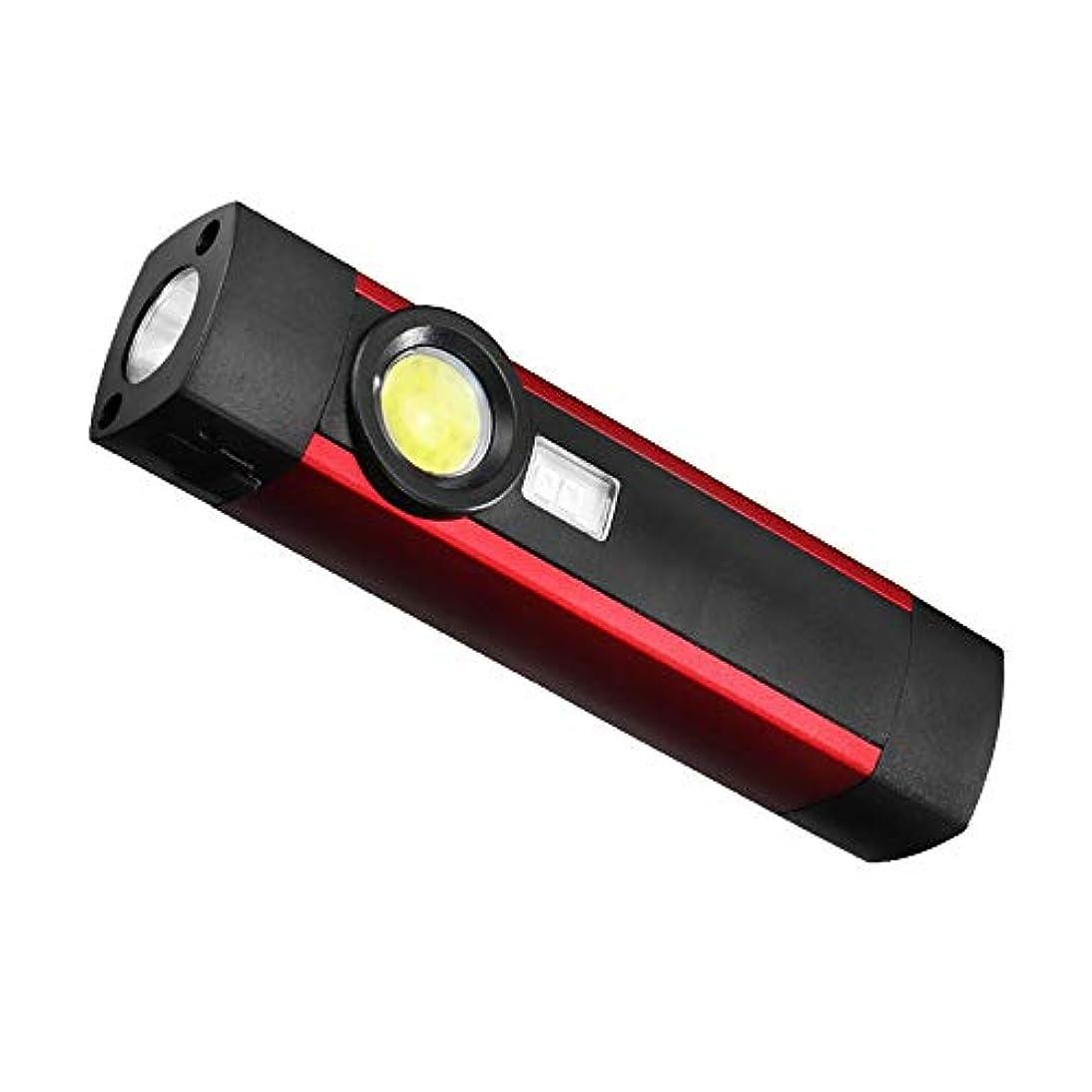 対処する写真を撮るの中でLEDトーチ、 ハンドヘルドLED懐中電灯、 4つのライトモードで、 USB充電式および防水、 スーパーブライト500ルーメン、 アウトドアキャンプ用緊急ウォーキングハイキングクライミング