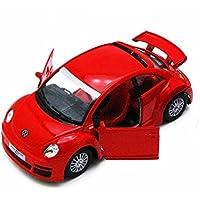 フォルクスワーゲン?ニュービートルRsi(2001~)1/32サイズ 【プルバック式ダイキャストミニカー?世界の名車シリーズ】Volkswagen New Beetle Rsi (レッド)