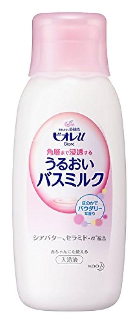 キャラクターレバー出版【花王】ビオレU 家族みんなのすべすべバスミルク 本体 600ml ×5個セット