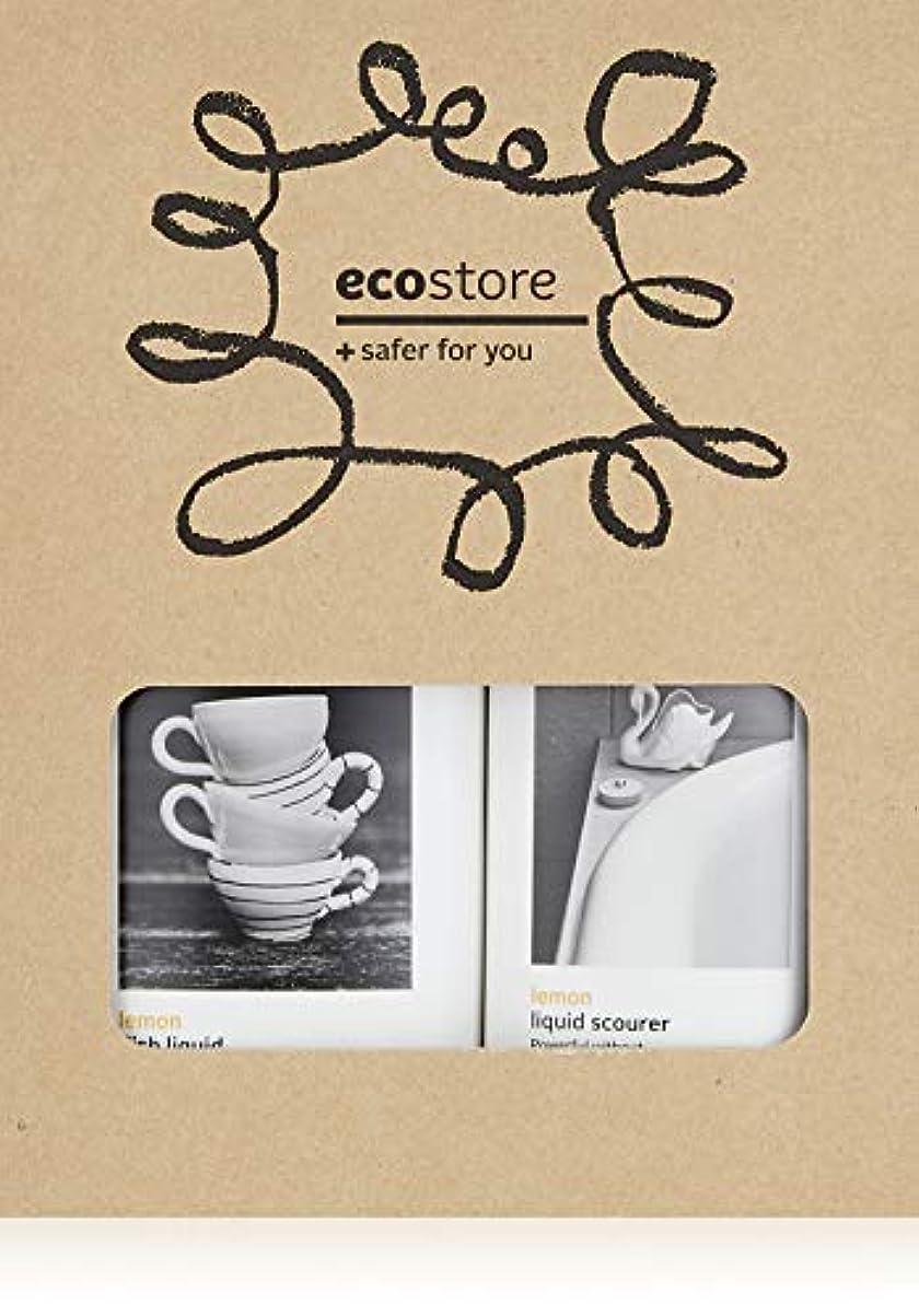 ecostore エコストア ハウスホールドキット  【ディッシュウォッシュリキッド?クリームクレンザー】 BOXセット