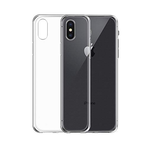 iPhone XS Plus ケース TopACE クリア スリム TPU ...