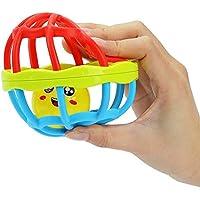 toponechoiceベルトイ音楽とカラフルなライトソフトアクティビティボールベビー幼児幼児Teether Rattles Teethingベッド