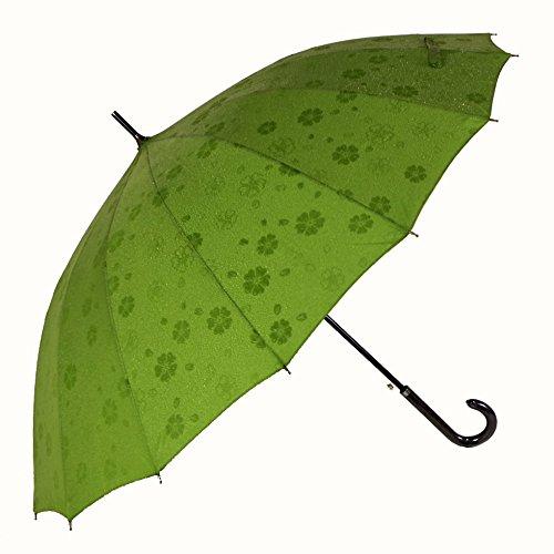 京都花舞妓 浮き桜「雨に濡れると桜柄が浮き出る傘」16本骨ジ...