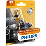 Philips H9 Standard Halogen Replacement Headlight Bulb, 1 Pack