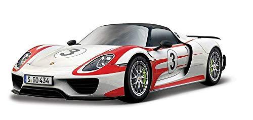 ブラーゴ 1/24 ポルシェ 918 スパイダー Bburago 1/24 Porsche 918 Weissach NO.3 レース スポーツカー ダイキャストカー Diecast Model ミニカー