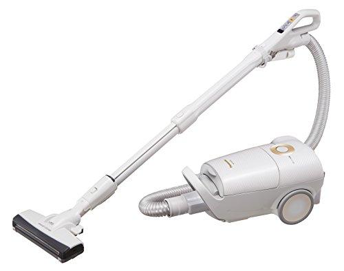 パナソニック Jコンセプト 紙パック式掃除機 ハウスダスト発見センサー搭載 ホワイトゴールド MC-JP510G-W