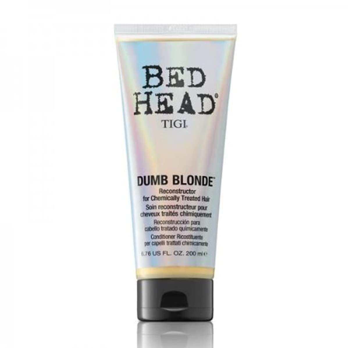 管理者着陸精査するTigi Bed Head Dumb Blonde Reconstructor For Chemically Treated Hair 200ml [並行輸入品]