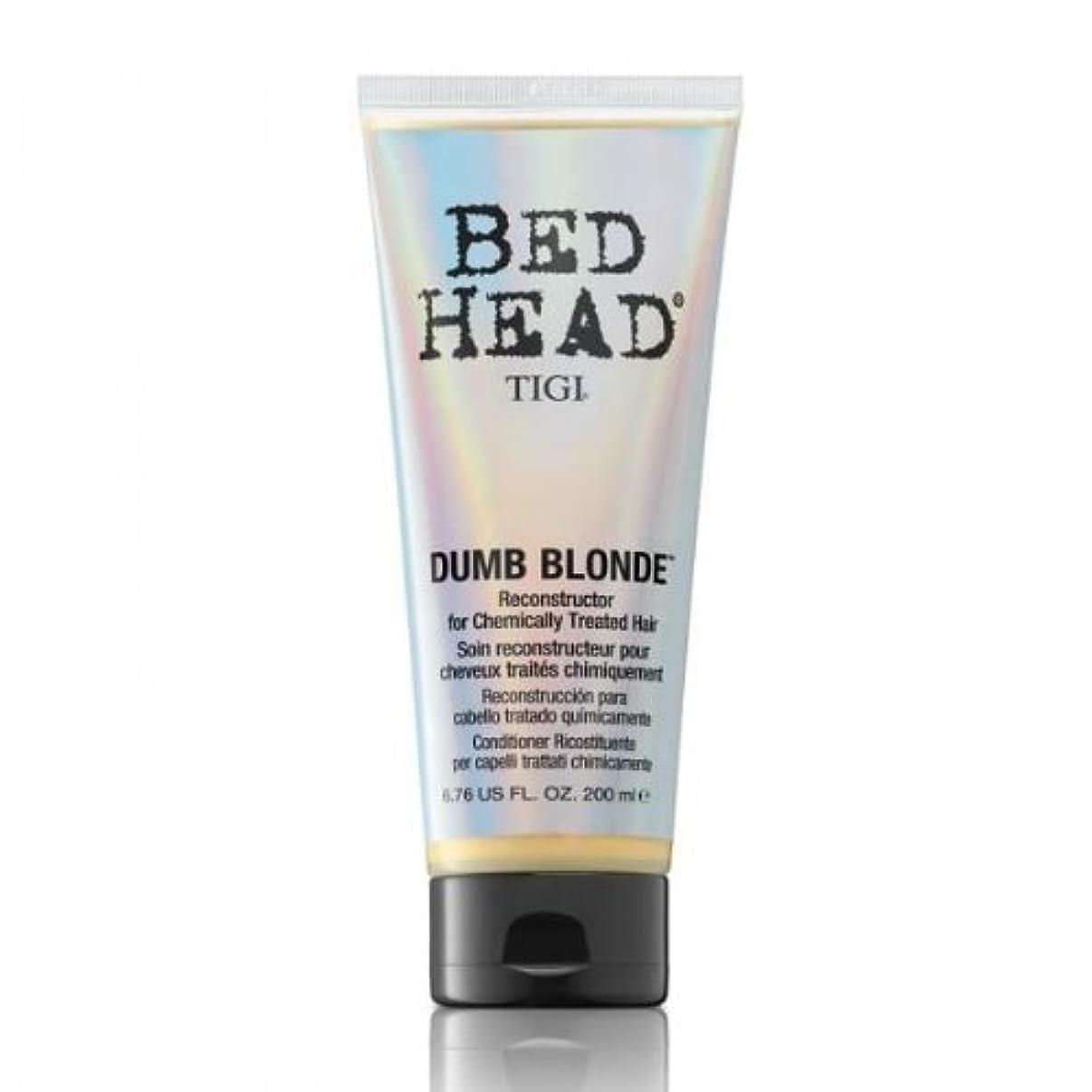 コンプライアンス端末望みTigi Bed Head Dumb Blonde Reconstructor For Chemically Treated Hair 200ml [並行輸入品]