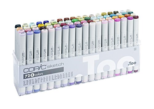Manga Anime Comic marcadores Copic Sketch Basic 36 Color Set 12502074