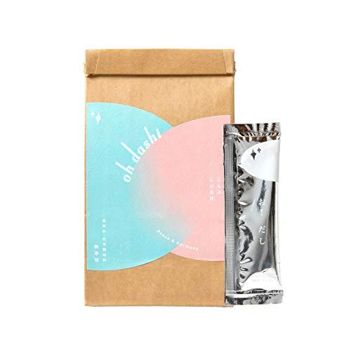 oh dashi 椎茸だしスープ【椎茸のほっこりとした天然のうま味】 (10袋入)