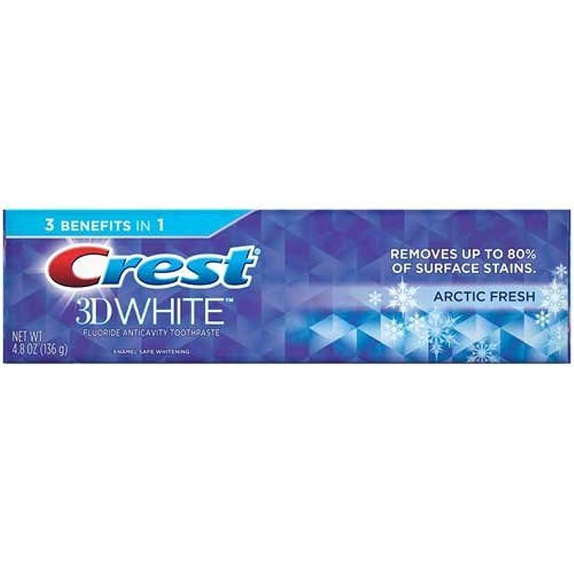 辛な知っているに立ち寄るまもなくCrest 3Dホワイトジェル北極新鮮な歯磨き、4.8オンス - ケースあたり24。